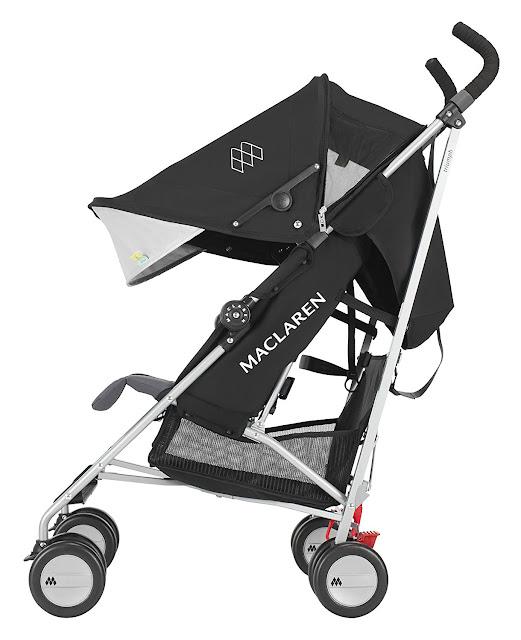 prezenty #1 wózek Maclaren na wakacyjne wojaże.