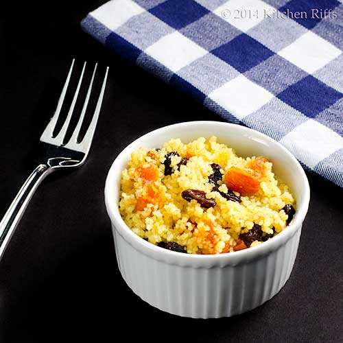 Couscous with Dried Fruit