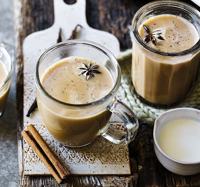 Vanilla Chai Hot Toddy Recipe
