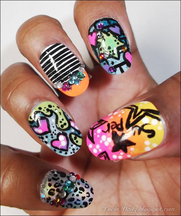 The gallery for --> Claw Nails Nicki Minaj