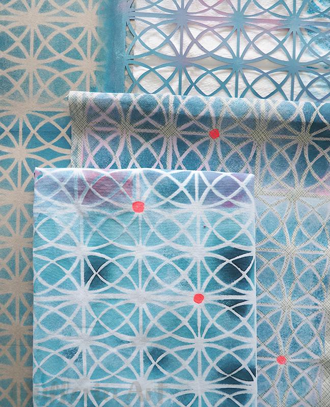 Tower Bridge Pattern nach ©muellerinart