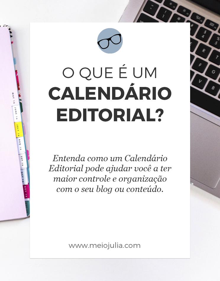 O que é Um Calendário Editorial