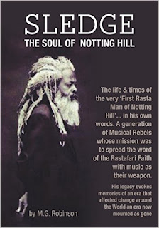 Sledge, The Soul of Notting Hill, by Marcia Robinson, a memoir of her dad, as featured at the Brixton Book Jam on 7 MArch 2016