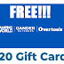 Free $20 To Spend In-Store at Camping World or Gander Outdoor - Get $20 of Free Stuff!