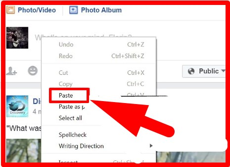 how to copy facebook post