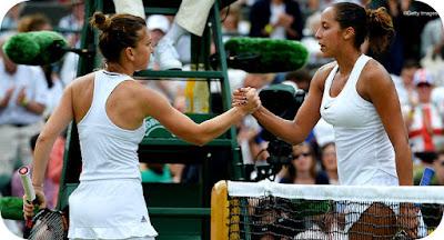 Sferturi la Wimbledon. Hai Simona!