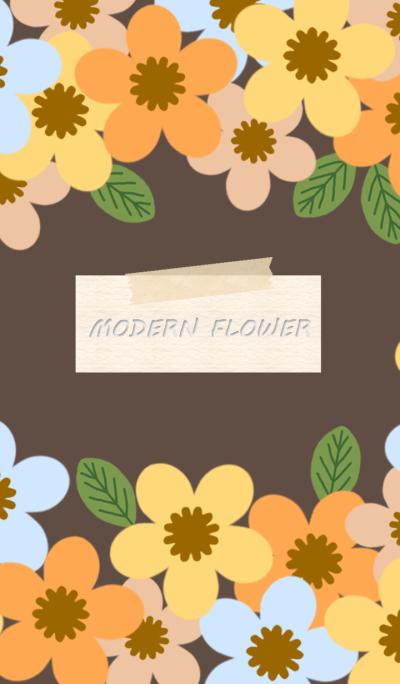 MODERN FLOWER 6 *