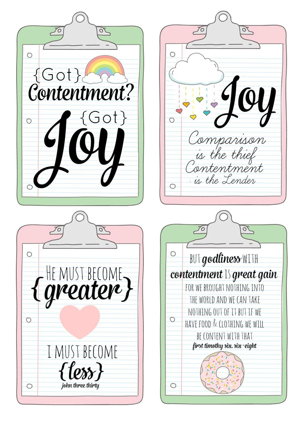 Raising Up Rubies- Blog: free print - journaling cards