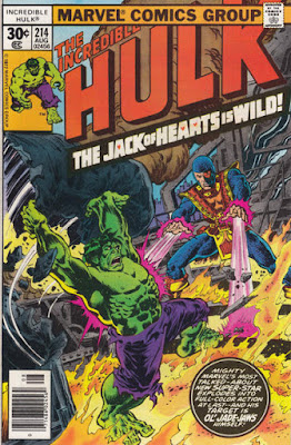 Incredible Hulk #214, Jack of Hearts