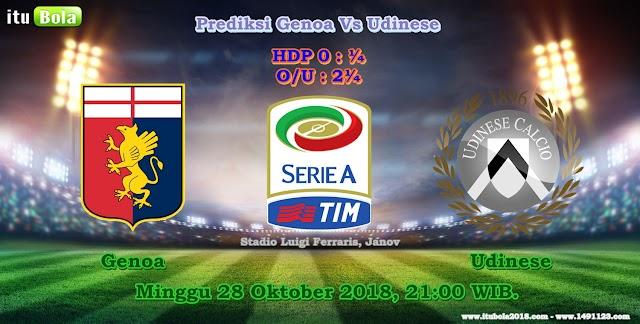 Prediksi Genoa Vs Udinese - ituBola