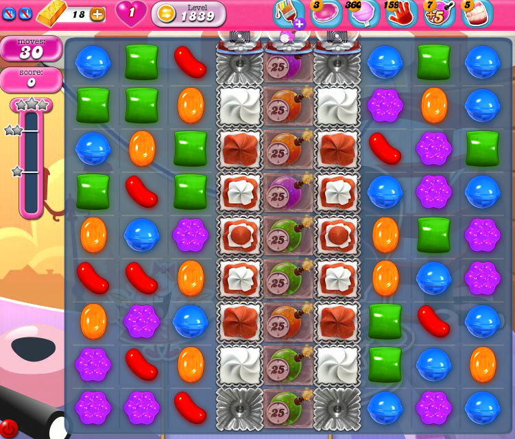 Candy Crush Saga 1839