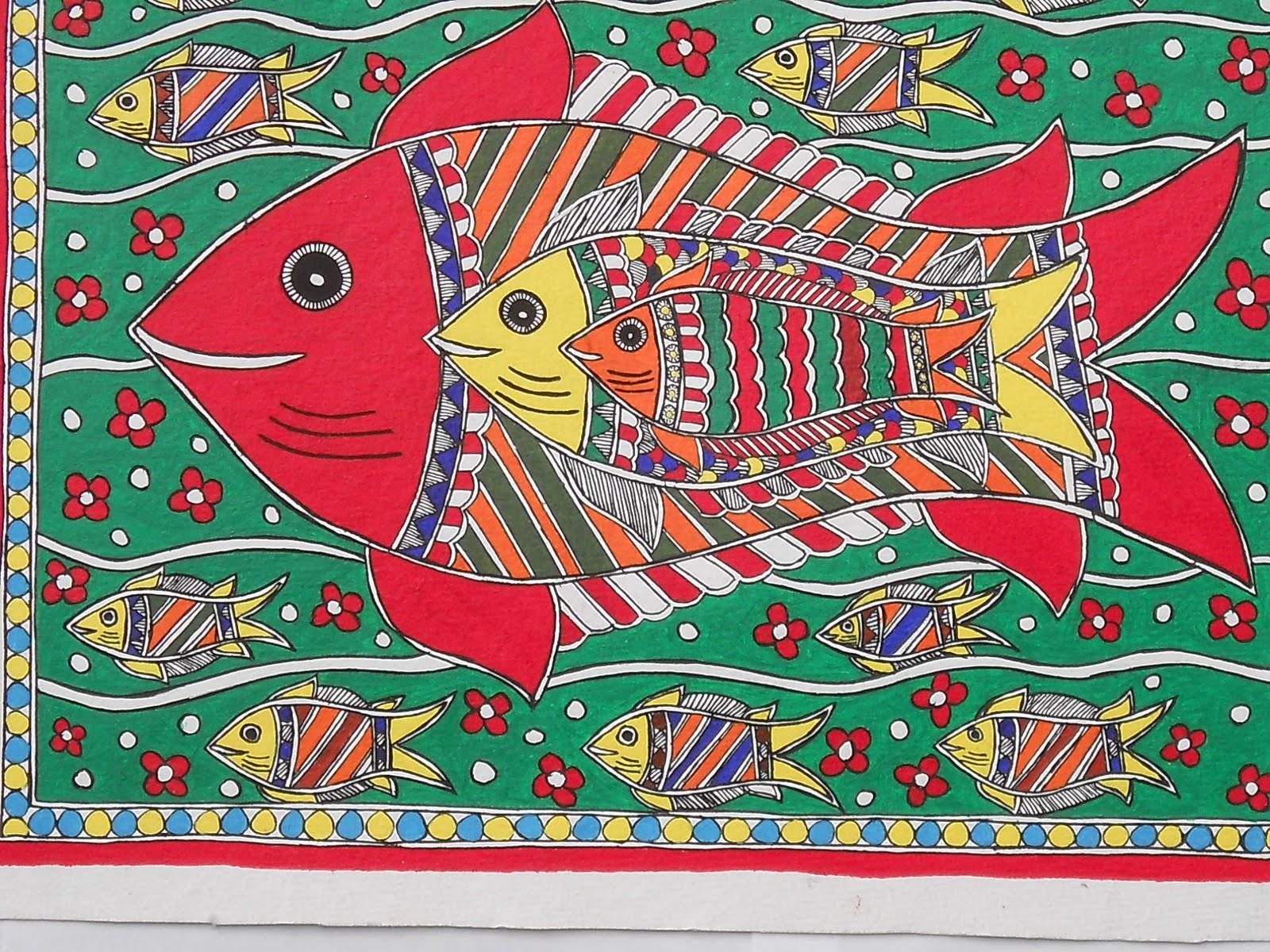 Madhubani Paintings S N Arts Buy