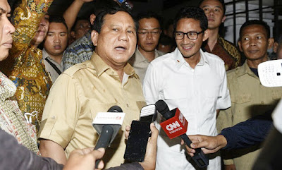 Prabowo-Sandi 99 Persen Maju, Deklarasi Malam Ini