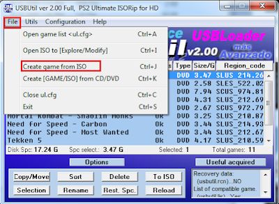 Cara Mudah Menambah dan Memasukkan Game PS2 ISO Ke Hard Disk Matrix