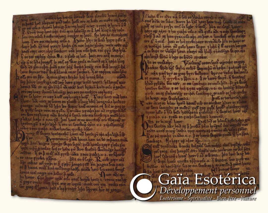 Codex Regius - Livre du roi - Edda poétique