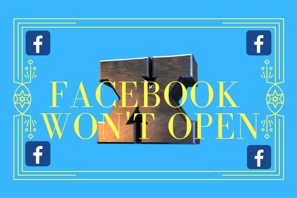 Facebook Won't Open