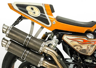 jay springsteen xr 1200 exhaust and seat