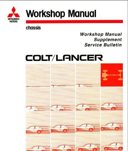 Mitsubishi lancer vll lancer wagon workshop service manual full.