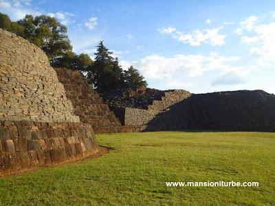 Zona Arqueológica en Tzintzuntzan, Michoacán
