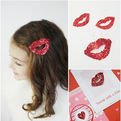 Accessoire de Cheveux DIY pour la St Valentin
