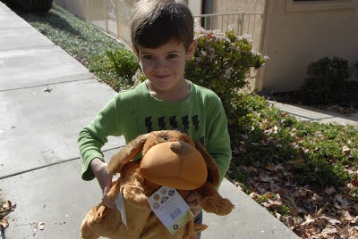 grandson with paco the pup: LadyD Books