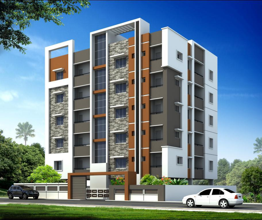 Modern Apartment Building Elevations: Residential Apt. Elevation Concept