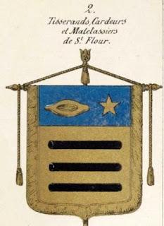 Bannière des Cardeurs de saint-Flour