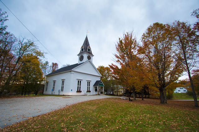 Sugar hill church-foliage