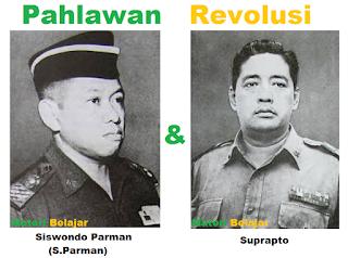Biografi Pahlawan Siswondo Parman Dan Pahlawan Suprapto