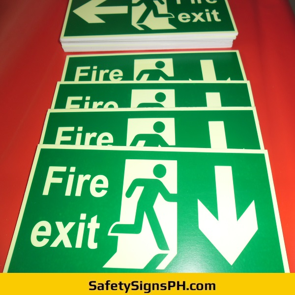 Luminous Fire Exit Signs Philippines