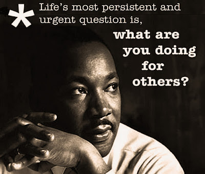Image result for mlk what are you doing for others
