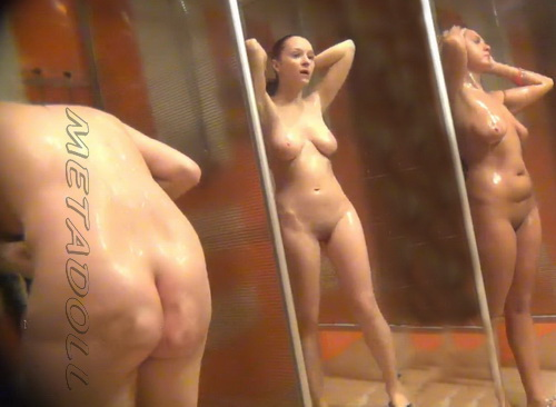 Shower Spy 347-356 (Hidden cam in shower room with many nude girls)