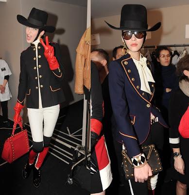 Military chic Trend - Moschino - Fall Winter 2012
