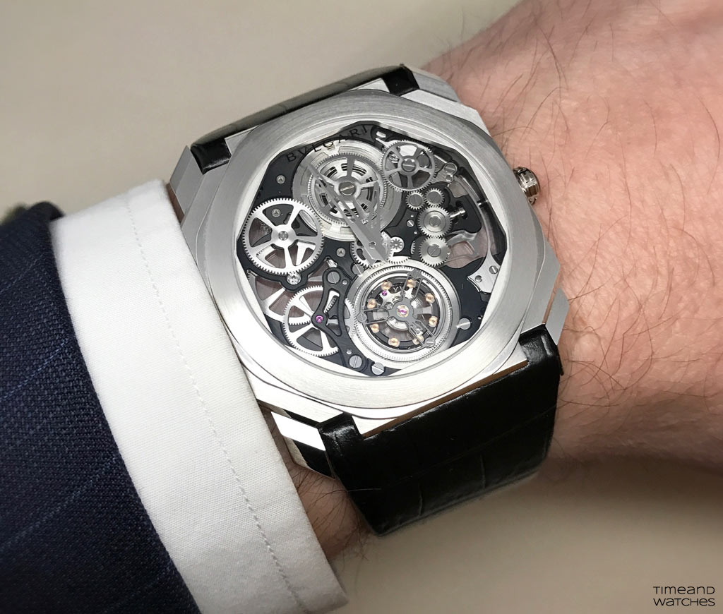 Bulgari Octo Finissimo Tourbillon Skeleton Time And