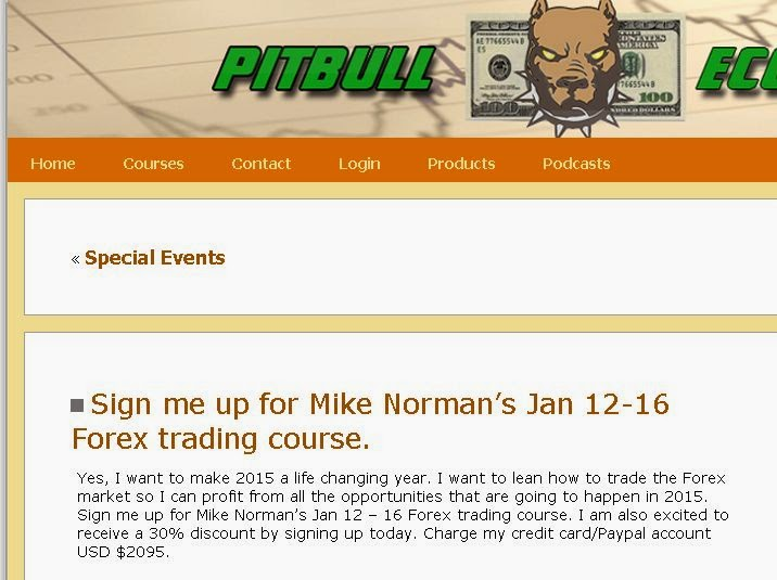 Mike norman forex