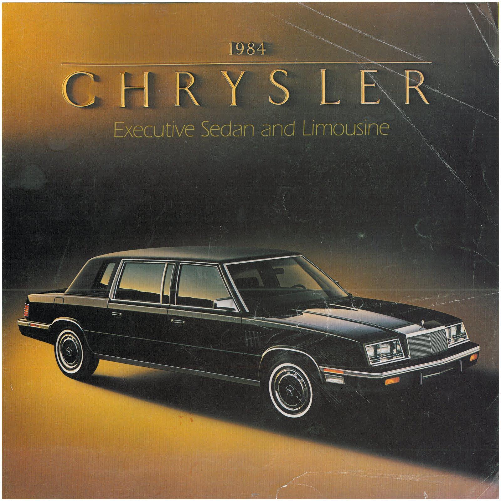 Beaterblog: Chrysler Presents 1984 K-Car Limousine And