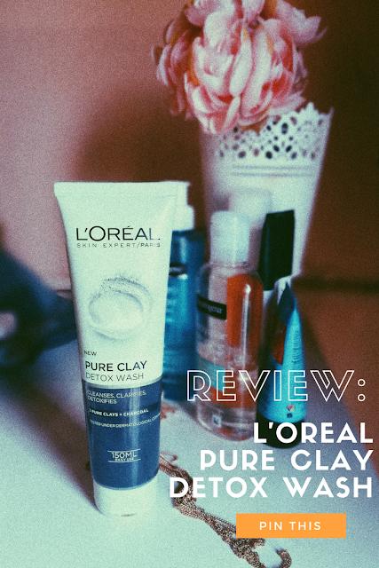 L'ORÉAL Pure Clay Detox Wash Review,