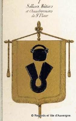 Bannière des chaudronniers de saint-Flour