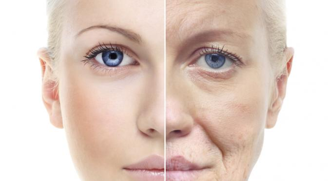 Hasil gambar untuk penuaan dini