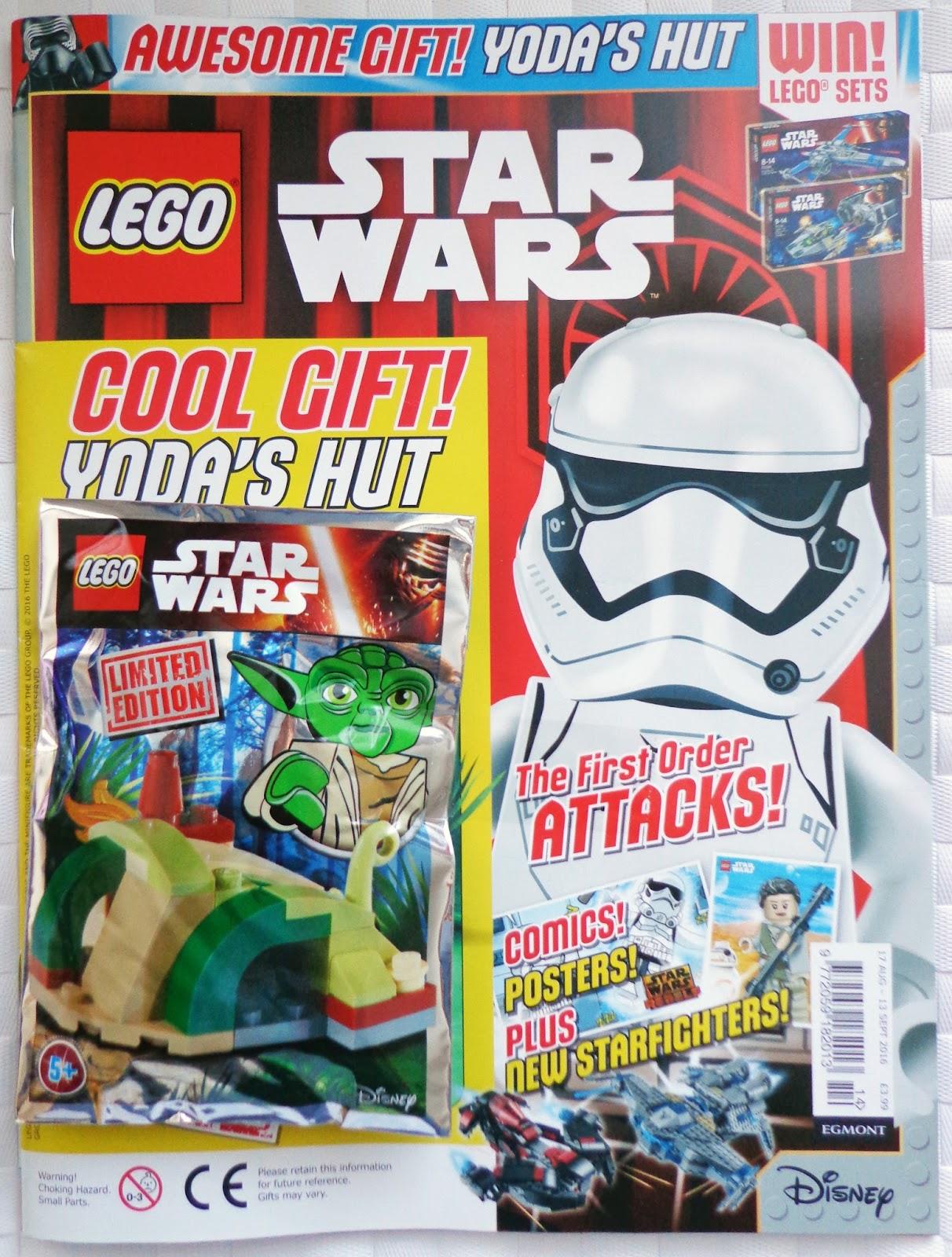 brickednexus lego star wars magazine issue 14. Black Bedroom Furniture Sets. Home Design Ideas