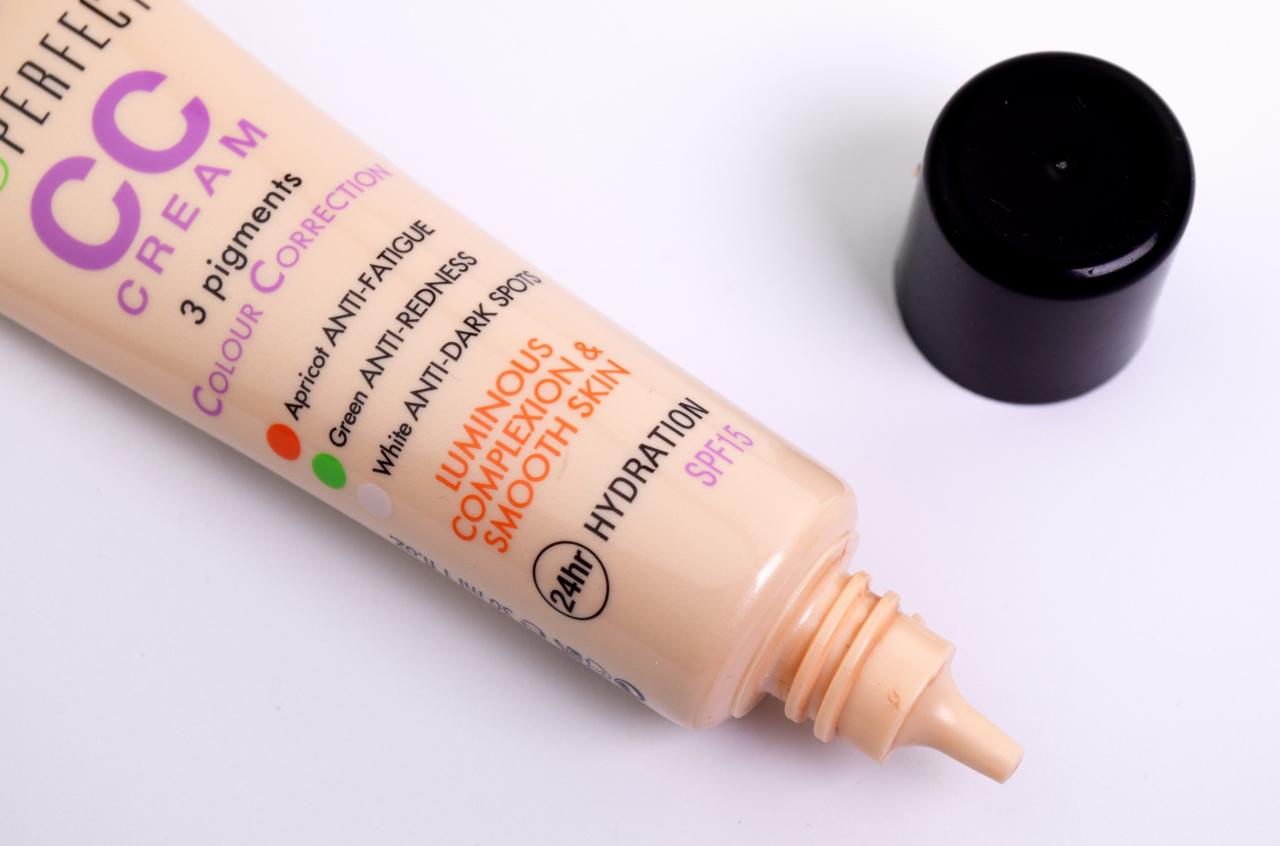 Maquillaje para salir a correr, CC Cream