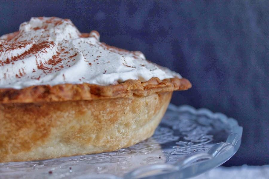 Receta Pie de mousse de chocolate de naranja