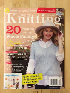 magazine, love of knitting, springtime mobile