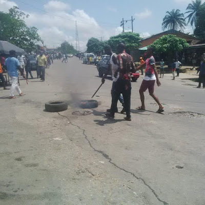 JUNGLE JUSTICE! Another Suspected Thief Burnt To Death In Calabar [Graphic Photos]