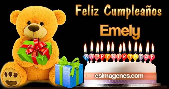 Feliz Cumpleaños Emely