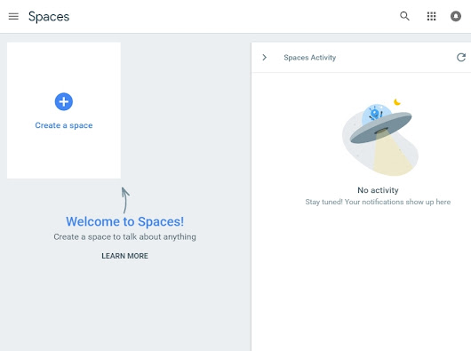 How To Create and Join Google Spaces As A Page