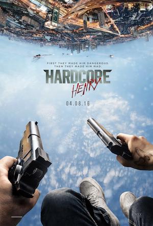 Poster Hardcore Henry 2015