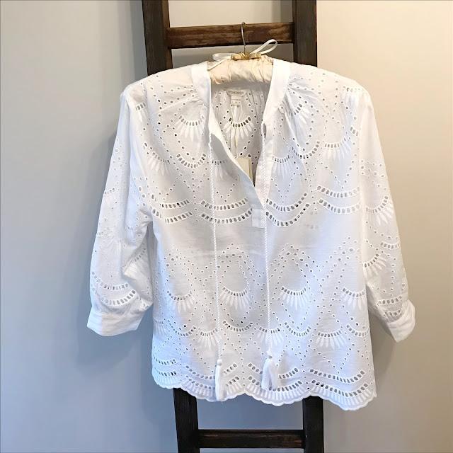 My Midlife Fashion, Monsoon ivy schniffli blouse