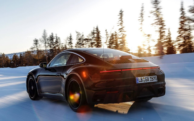 Novo Porsche 911 2020