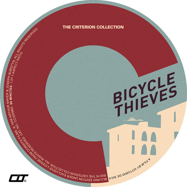 Bicycle Thieves (1948) Bluray Label